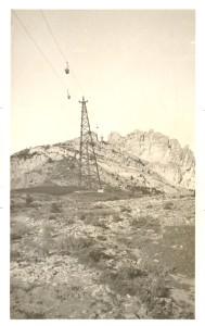 cable aeri vallcebre a los silos de carga del collet
